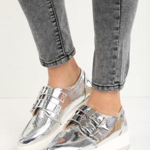 886d812a21 Cu platforma ane ezüst casual női cipők